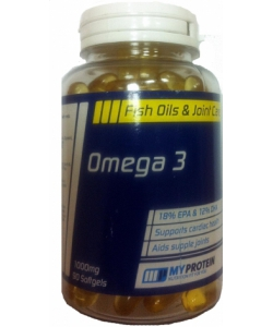 MyProtein Omega 3 1000 mg (90 капсул)
