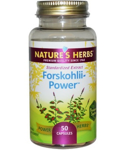 Nature's Herbs Forskohlii Power (50 капсул, 50 порций)