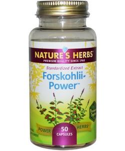 Nature's Herbs Forskohlii Power (50 капсул, 50 порций)