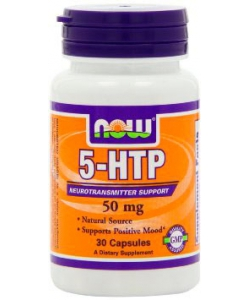 NOW 5-HTP 50 mg (30 капсул)
