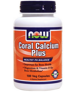 NOW Coral Calcium Plus (100 капсул, 50 порций)