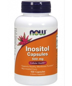 Now Foods Inositol (100 капсул, 100 порций)