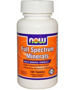 NOW Full Spectrum Minerals (100 таблеток)