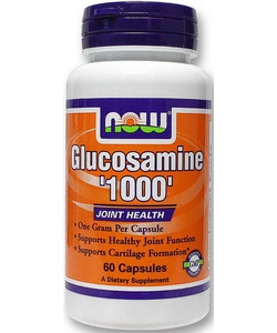 NOW Glucosamine 1000 (60 капсул)
