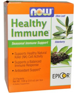 NOW Healthy Immune 24x4,5 g (108 грамм, 24 порции)