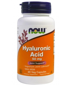 NOW Hyaluronic Acid 50 mg (60 капсул)