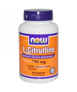 Now L-Citrulline (90 капсул, 45 порций)