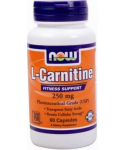 NOW L-Carnitine 250 mg (60 капсул)