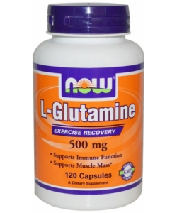 NOW L-Glutamine 500 mg (120 капсул)
