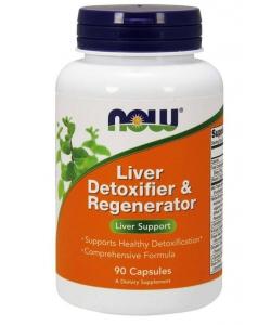 NOW Liver Detoxifier & Regenerator (90 капсул)