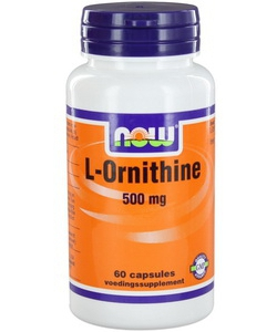 NOW L-Ornithine 500 mg (60 капсул)