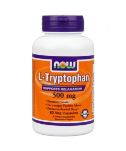 NOW L-Tryptophan 500 mg (60 капсул, 30 порций)