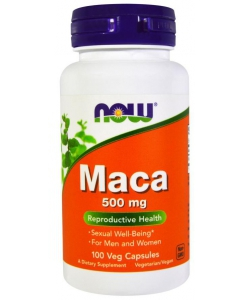 now Maca 500 mg (100 капсул, 100 порций)