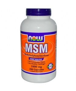 Now MSM 1000 mg (240 капсул)