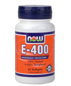 NOW Natural E-400 (50 капсул, 50 порций)