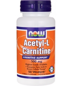 NOW Sports Acetyl-L Carnitine 500 mg (50 капсул)