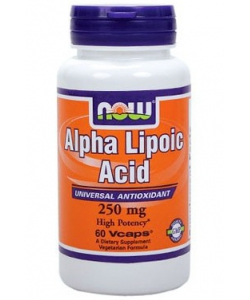 NOW Sports Alpha Lipoic Acid 250 mg (60 капсул)