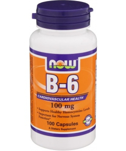 NOW Sports B-6 100 mg (100 капсул)
