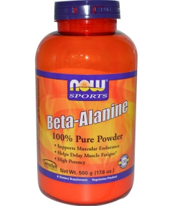 NOW Sports Beta-Alanine (500 грамм)