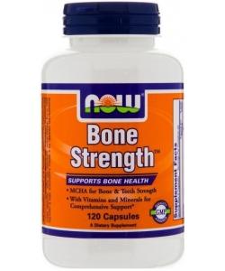 NOW Sports Bone Strenght (120 капсул, 30 порций)