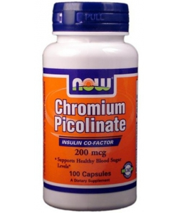 NOW Sports Chromium Picolinate 200 mcg (100 капсул)