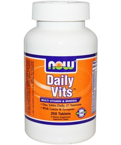 NOW Sports Daily Vits (250 таблеток, 250 порций)