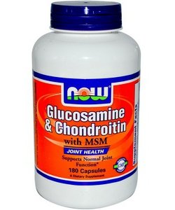 NOW Sports Glucosamine & Chondroitin MSM (180 капсул)