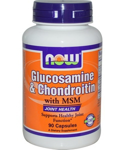 NOW Sports Glucosamine & Chondroitin MSM (90 капсул)