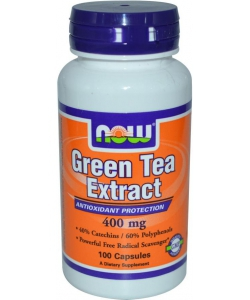 NOW Sports Green Tea Extract 400 mg (100 капсул)