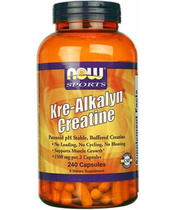 NOW Sports Kre-Alkalyn Creatine (240 капсул)