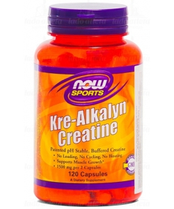 NOW Sports Kre-Alkalyn Creatine (120 капсул)
