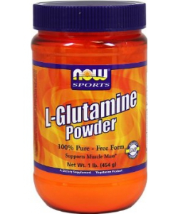NOW Sports L-Glutamine Powder (454 грамм)