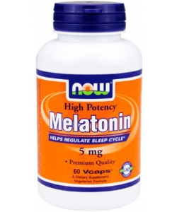 NOW Sports Melatonin 5 mg (60 капсул, 60 порций)