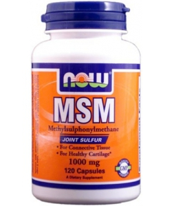 NOW Sports MSM 1000 mg (120 капсул)
