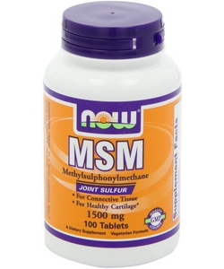 NOW Sports MSM 1500 mg (100 таблеток)