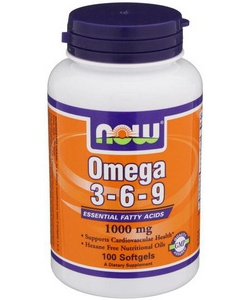 NOW Sports Omega 3-6-9 (100 капсул)