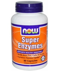 NOW Super Enzymes (180 капсул, 90 порций)