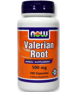 NOW Valerian Root 500 mg (100 капсул)