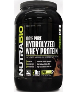 Nutrabio 100% Pure Hydrolyzed Whey Protein (907 грамм, 26 порций)