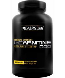 NutraBolics L-Carnitine 1000 (180 капсул, 90 порций)