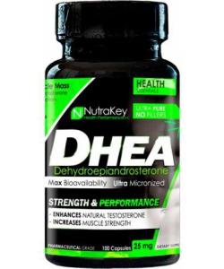 NutraKey DHEA 25 mg (100 капсул, 100 порций)