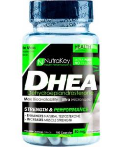 NutraKey DHEA 50 mg (100 капсул, 100 порций)