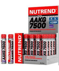 Nutrend AAKG 7500 (25 ампул, 50 порций)