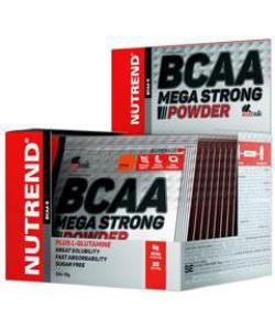 Nutrend BCAA Mega Strong Powder 20Х10g (20 пак., 20 порций)
