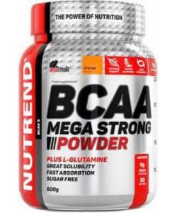 Nutrend BCAA Mega Strong Powder (500 грамм, 50 порций)