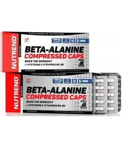 Nutrend Beta-Alanine Compressed Caps (90 капсул, 45 порций)