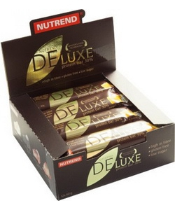 Nutrend DELUXE protein bar 12x60 g (720 грамм, 12 порций)