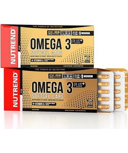 Nutrend Omega 3 Plus Softgel Caps (120 капсул, 60 порций)