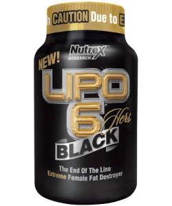 Nutrex Lipo 6 Black Hers (60 капсул)