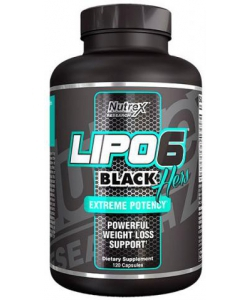 Nutrex Lipo 6 Black Hers (120 капсул)